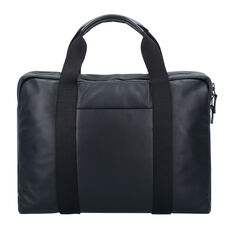 Leonhard Heyden Long Island Businesstasche Leder 40 cm Laptopfach, black