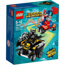 LEGO® DC Super Heroes 76092 Mighty Micros: Batman™ vs. Harley Quinn™