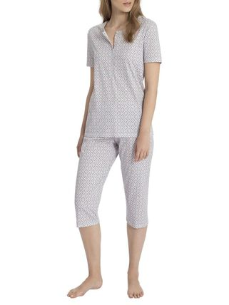 Calida 3/4-Pyjama, soft kiss rose, rosa