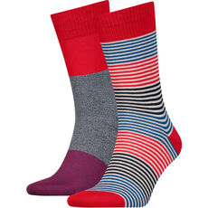 "Levi's® Herren Socken ""Engineered Stripe"", 2er Pack"