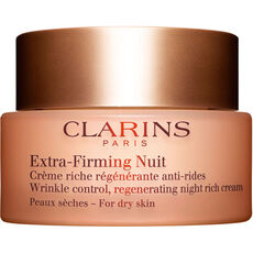 Clarins Extra-Firming Nuit Peaux sèches, Anti-Aging Nachtcreme, 50 ml