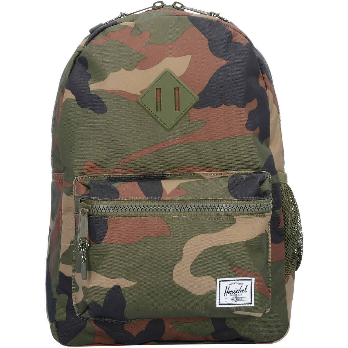 a61094d0a8b09 Herschel Rucksack Army Rubber Youth 38 CmWoodland Camo Heritage c3FK1JTl