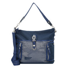 George Gina & Lucy Ho Beau Schultertasche 30 cm, silver marine