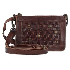 Billy the Kid Nasty Cowboys Charlotte Umhängetasche Leder 17 cm, nut brown