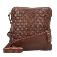 Billy the Kid Nasty Cowboys Emporia Umhängetasche Leder 18 cm, nut brown
