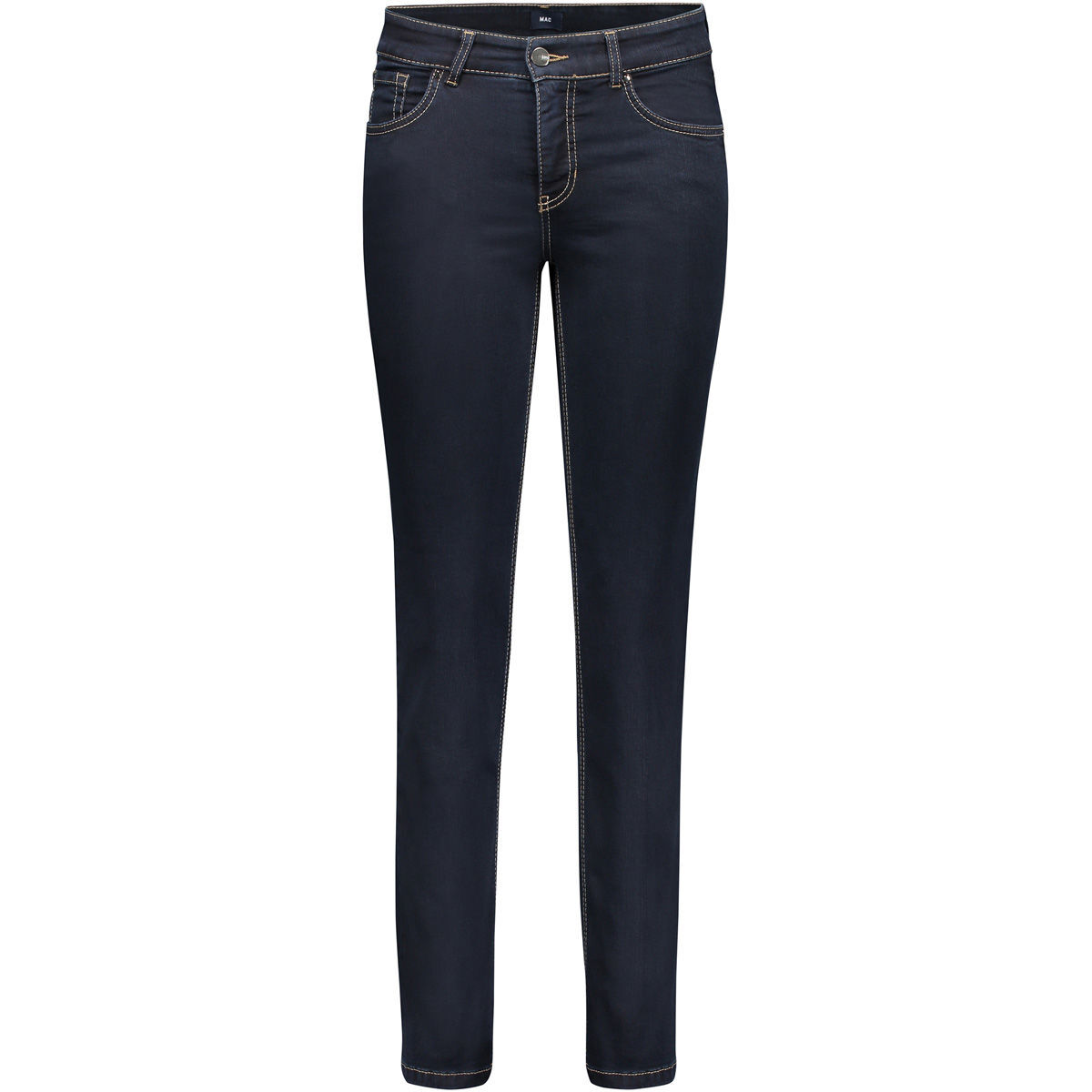 mac damen jeans feminine fit straight leg karstadt online shop. Black Bedroom Furniture Sets. Home Design Ideas