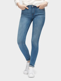 Tom Tailor Denim Jeanshosen Nela Extra Skinny Jeans, stone blue denim