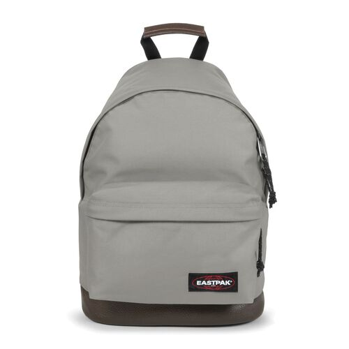 Eastpak Authentic Collection Wyoming 18 Rucksack mit Leder 40 cm, silky grey