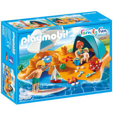 PLAYMOBIL® Family Fun Familie am Strand 9425