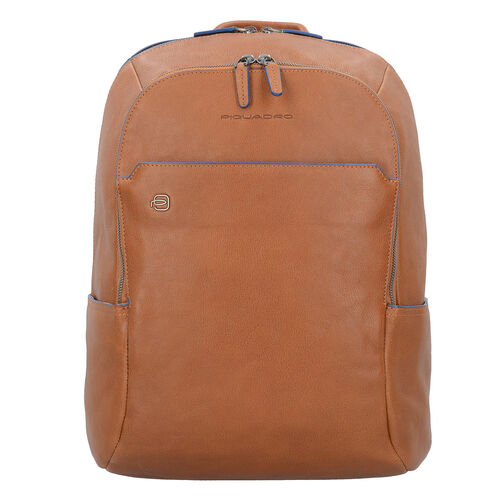 Piquadro Blue Square Business Rucksack Leder 39 cm Laptopfach, cuoio | Taschen > Businesstaschen > Business Rucksäcke | Piquadro