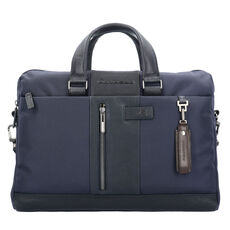 Piquadro Brief Aktentasche 41 cm Laptopfach, blue