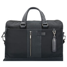 Piquadro Brief Aktentasche 41 cm Laptopfach, nero