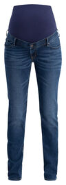 NOPPIES Straight Umstandsjeans Beau, Authentic Blue
