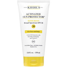Kiehl's Activated Sun Protector SPF30, Sonnenlotion, 150 ml