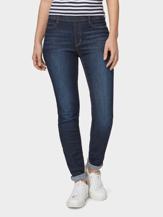 Bonita Jeans im Five-Pocket-Style, mid stone wash denim
