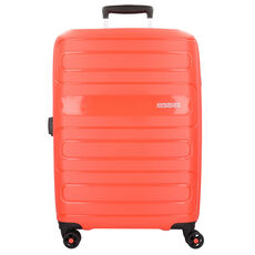 American Tourister Sunside 4-Rollen Trolley 77 cm, sunset red