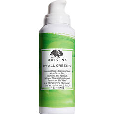 Origins By All Greens™ Foaming deep cleansing mask with Green Tea, Spirulina and Spinach, 70 ml