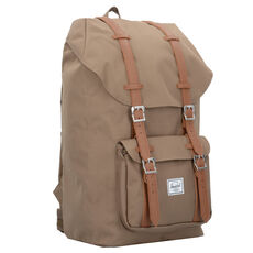 Herschel Little America Rucksack 50 cm Laptopfach, barbados cherry crosshatch black