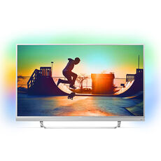 "Philips UHD-LED-Fernseher 49PUS6482/12 123 cm (49""), Ambilight, A"