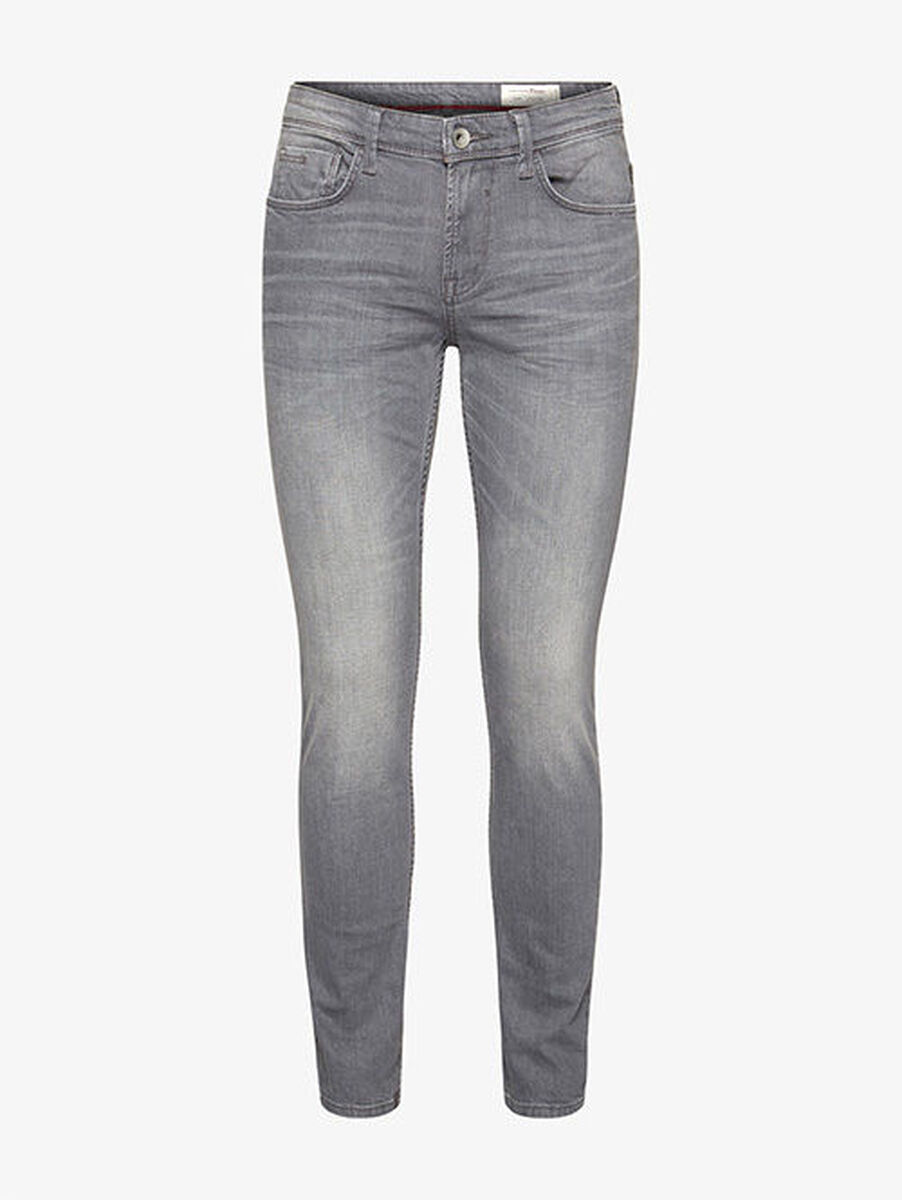 Tom Tailor Denim Skinny Herren-Jeans – Culver, grey denim grey denim ... feaee01db9