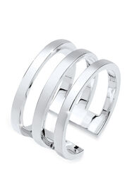 Elli Ring Blogger Must-Have Wickelring 925er Silber, Silber