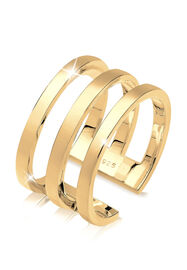Elli Ring Blogger Must-Have Wickelring 925er Silber, Gold