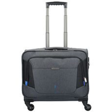 Travelite @WORK 4-Rollen Businesstrolley 45 cm Laptopfach, anthrazit