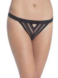 Chantal Thomass String-Tanga, Black, schwarz