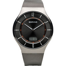 "Bering Herrenuhr Radio Controlled ""51640-077"""