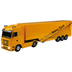 Cartronic RC Truck Mercedes-Benz Actros, gelb