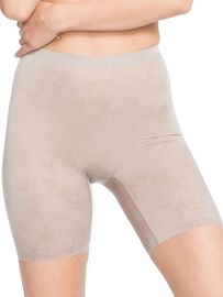 Spanx Shaping-Short mit Bein, lace taupe, beige