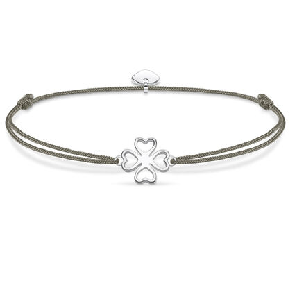 THOMAS SABO Armband Little Secret Kleeblatt 925er Sterlingsilber