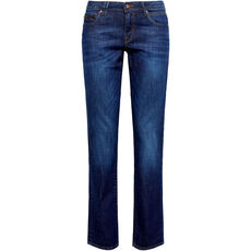 edc by Esprit Damen Jeans, Straight Fit, Low Rise