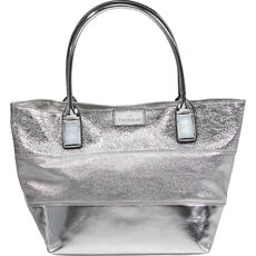 Tom Tailor Damen Shopper, silber