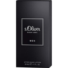 S.Oliver Black Label Black Label Men, After Shave Lotion, 50 ml