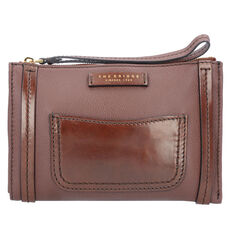 The Bridge Saturnia Kulturbeutel Leder 23 cm, marrone tb