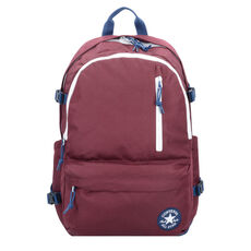 Converse All Star Straight Edge Rucksack 46 cm Laptopfach, dk burgundy navy