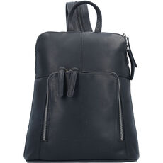 The Chesterfield Brand Vivian City Rucksack Leder 28 cm, schwarz
