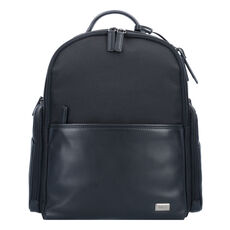 Bric's Monza Businessrucksack 39 cm Laptopfach, Nero/Nero