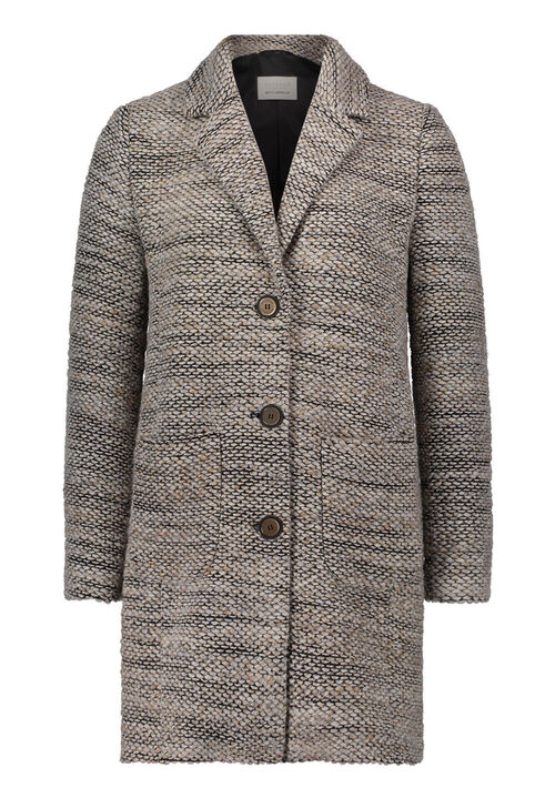 Betty Barclay Wollmantel, Beige/Schwarz - Braun, 38 | Bekleidung > Mäntel | Betty Barclay