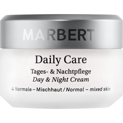Marbert Daily Care Tages & Nachtpflege, Gesichtscreme, 50 ml