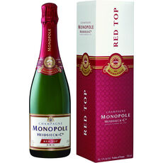 Champagne HEIDSIECK & CO MONOPOLE Red Top trocken, 0,75 l