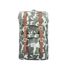 Herschel Little America Rucksack 42 cm Laptopfach, frog camo tan synthetic leather