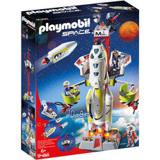 PLAYMOBIL® Space Mars-Rakete mit Startrampe 9488