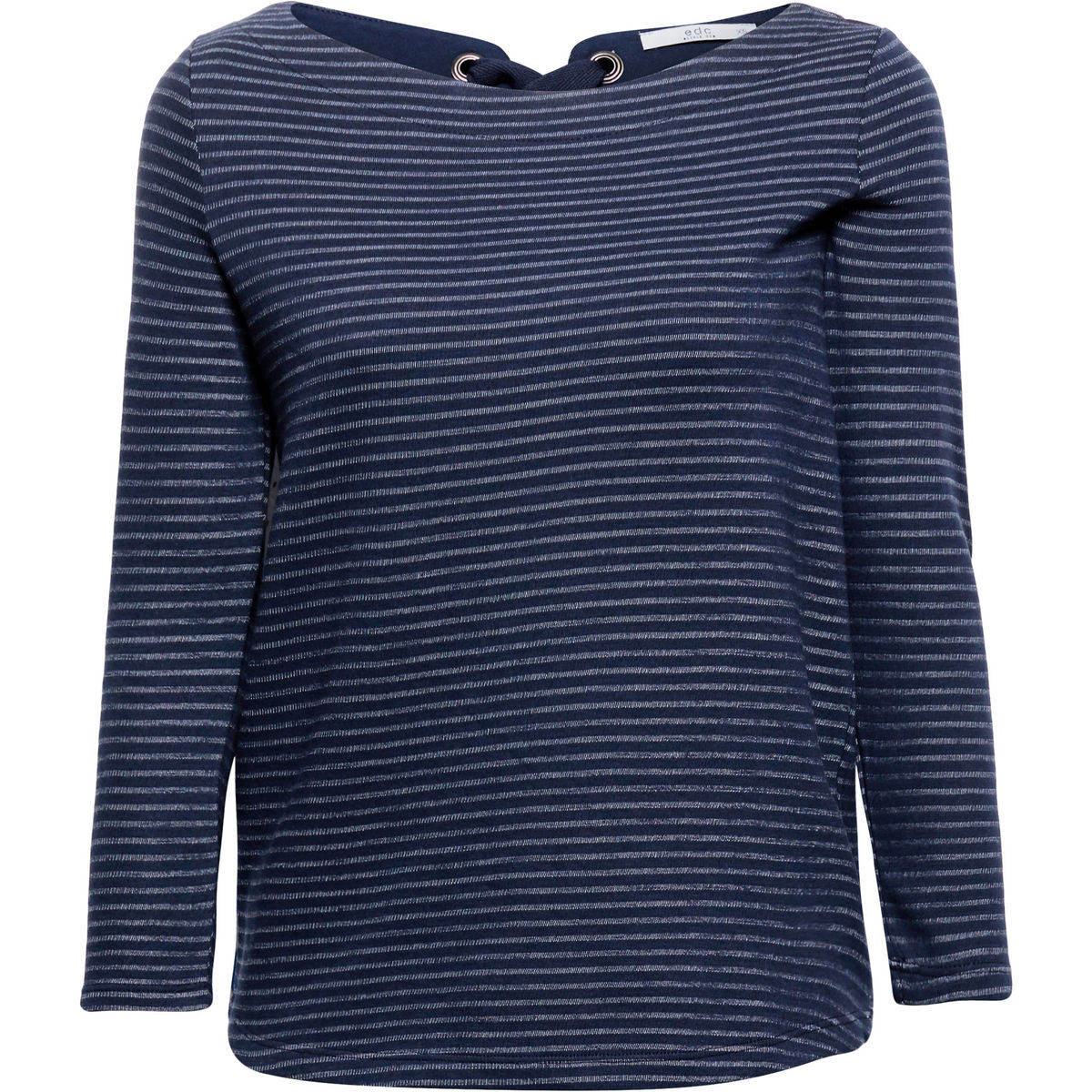 56b3927606cb0b edc by Esprit Damen Shirt mit 3/4 Arm, gestreift | Karstadt Online-Shop