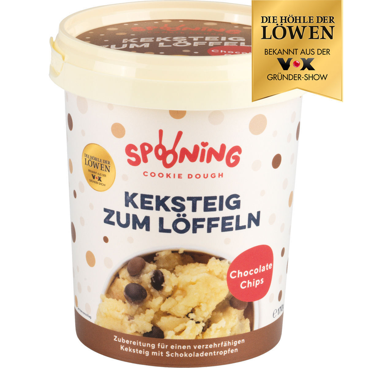 Spooning Cookie Dough Keksteig Chocolate Chips 170 G Karstadt