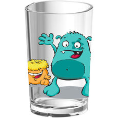 Emsa Kinder-Trinkglas Monster, 0,2 l