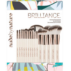 Nude by Nature Brilliance 15 Piece Brush Collection, Pinsel Set