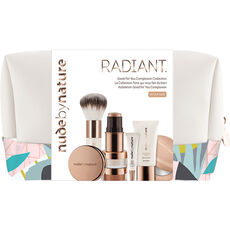 Nude by Nature Radiant Good For You  Complexion Collection W4, Make Up Set