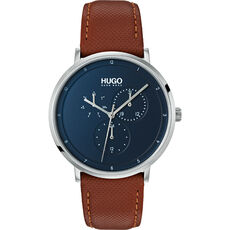 "HUGO Watches Herren Multifunktionsuhr Guide ""1530032"""